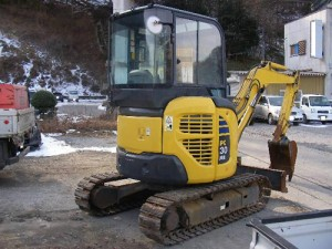 Komatsu PC30MR-2 Manual