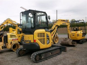 Komatsu PC35MR-3 Manual