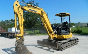 Komatsu PC45MR-3 Manual