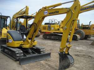 Komatsu PC55MR-3 Manual