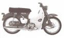 Thumbnail image for Honda C90 CE90 C90M CM91 Super Cub 90 Manual